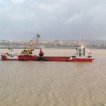 What dredging data is available on EMODnet?