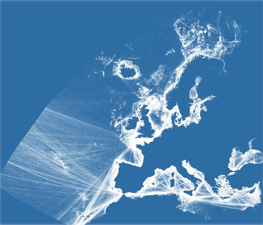 Detailed method of EU vessel density map